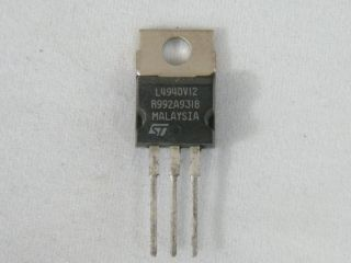 L4940V12 LOW DROP REGULATOR 12V ST MICROELECTRONIC