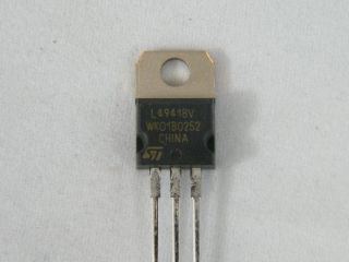 L4941BV LOW DROP REGULATOR 5V ST MICROELECTRONIC
