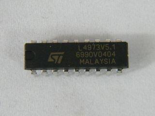 L4973V5.1 5V SWITKING REGULATOR ST DIL18