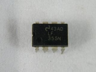 LF355N NATIONAL OPERATIONAL AMPLIFIER DIL8