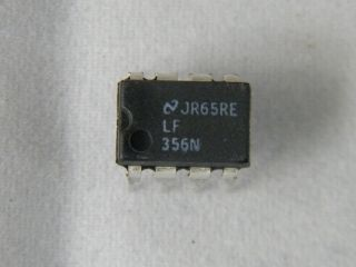 LF356N NATIONAL OPERATIONAL AMPLIFIER DIL8