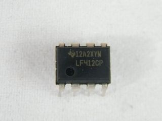 LF412N  OPERATIONAL AMPLIFIER NATIONAL DIL8