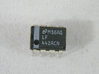 LF442N  OPERATIONAL AMPLIFIER NATIONAL DIL8