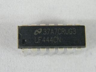 LF444N   QUAD OPERATIONAL AMPLIFIER NATIONAL DIL14