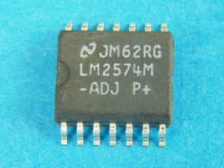 LM2574M-ADJ ADJUSTABLE SWITKING REGULATOR SO14W