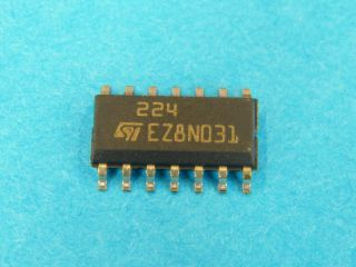 LM224D QUAD OPERATIONAL AMPLIFIER SO14