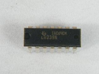 LM239N QUAFD COMPARATOR DIL14