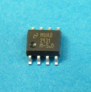 LM2931AM5.0 LOW DROP REGULATOR SO8