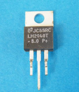 LM2940T-5 LOW DROP REGULATOR 5V TO220