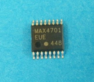 MAX4701EUE 4 POLE SPDT ANALOG SWITCH TSSOP16