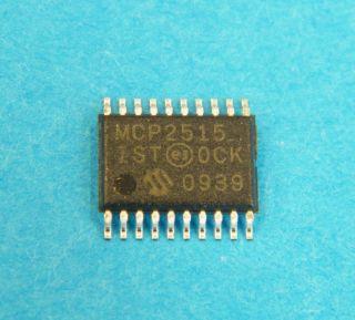 MCP2515IST SPI CAN CONTROLLER TSSOP20