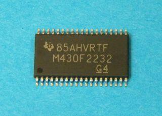 MPS430F2232IDA MICROCONTROLLER TEXAS TSSOP56