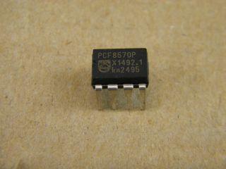 PCF8570P 256X8  STATIC RAM I2C DIL8