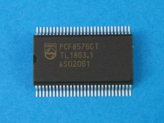 PCF8576CT UNIVERSAL LCD DRIVER VSOP56
