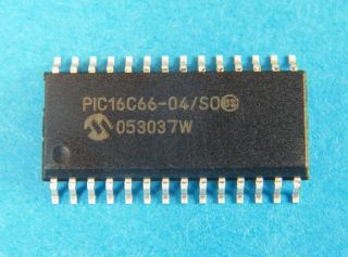 PIC16C66A-4SO 8 BIT MICROCONTROLLER  SO28