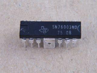 SN76003ND TV VERT. IC TEXAS INSTRUMENTS