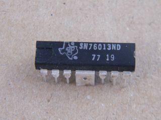 SN76013ND 6W AMPLIFIER TEXAS INSTRUMENTS