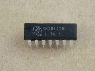 SN76115N STEREO DECODER TEXAS INSTRUMENT