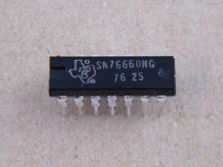 SN76660N TEXAS  SOUND IF AMPLIFIER DETECTOR DIL14