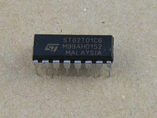 ST62T01C6 ST MICEOCONTROLLER DIL16