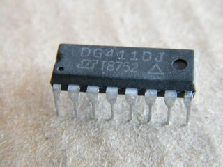 DG411DJ   QWUAD ANALOG SWITCH