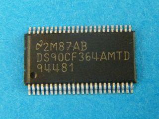 DS90FC364AMTD+3.3V LVDS Receiver 18-Bit Flat Panel Display (FPD) Link—65 MHz