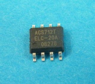 ACS712ELCTR-20A-T 20A HALL EFFECT LINEAR CURRENT SENSOR