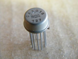 CA3018 TRANSISTOR ARRAY RCA METAL CASE