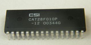 CAT28F010P-12 128KX8 EEPROM 1MB CATALUST (CSI) DIP32
