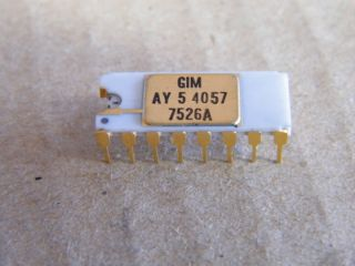 AY5-4057 4 DIGIT COUNTER GI MICROELECTRONIC