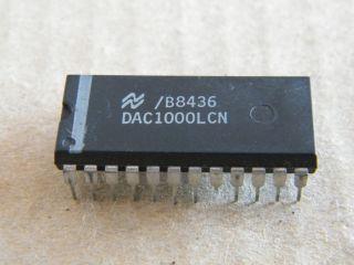 DAC1000LCN DUBLE BUFERED 8 BIT D/A CONVERTER NATIONAL DIP24