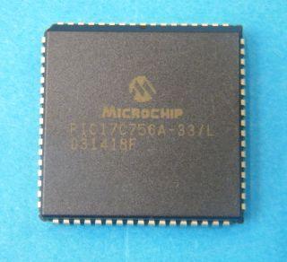 PIC17C756A-33/L MICROPROCESSOR PLCC68 MICROCHIP