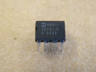 HA3-2515-5 12MHZ HIGH  IMPEDANCE  OPERATIONAL AMPLIFIER HARRIS DIP8