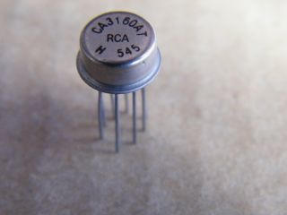 CA3160AT OPERATIONAL AMPLIFIER RCA TO5-8
