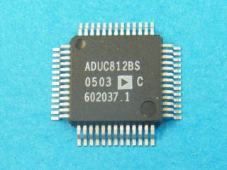 ADUC812BS 8 CHANEL 12BIT WITH ENDBEDDED FLASH MCU ANALOG DEVICES
