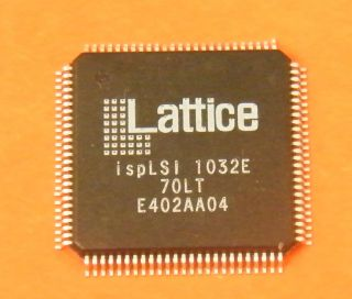 ISPLSI1032E70LTN GENERIC LOGIC ARRAY 6000 GATE LATTICE TQFO100