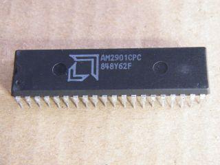 AM2901CPC 4 BIT BIPOLAR MICROPROCESSOR AMD DIP40