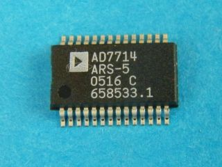 AD7714ARS-5  24bit charge balancing ADC ANALOG DEVICES SSOP28
