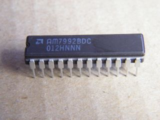 AM7992BDC SERIAL INTERFACE ADAPTER  AMD DIP24