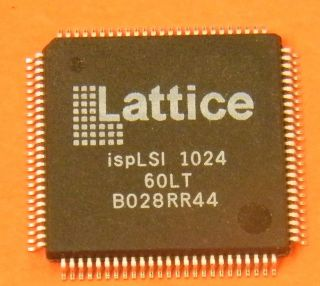 ISPLSI1024-60LT GENERIC LOGIC ARRAY 2000 GATE LATTICE TQFP100