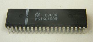 CIRCUITO INTEGRATO NS16C450CN NATIOMAL DIL 40