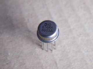 AD636KH TRUE RNS TO DC CONVERTER ANALOG DEVICE MTEAL CAN TO100-10