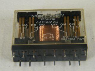 RELE NATIONAL NC4D-P-DC24V NC4DP-24V