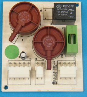SCHEDA SIGLAL LUX E5.015 VER.X3 E5015 CONTROLLO VUOTO CELLA FRIGORIFERA