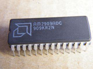AM2909ADC  4 BIT MICROPROGRAM SEQUENCERS AMD CERAMIC DIP28