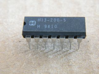 HI3-200-5 QUAD ANALOG SWITCH HARRIS DIP14