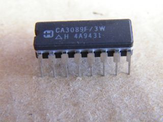 CA3089F FM-IM SYSTEM HARRIS CERAMIC DIP16