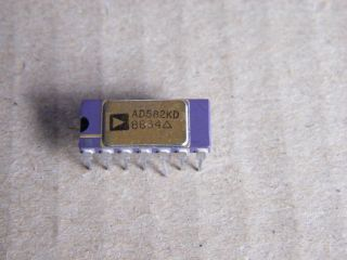 AD582KD  SAMPLE AND HOLD AMPLIFIER AMALOG DEVICES CERAMIC DIP14