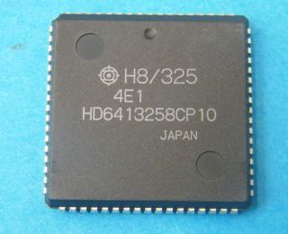 HD6413258CP10SINGLE CHIP MICROCONTROLLER HITACHI PLCC68