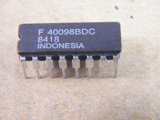 F40098BCP 40098 3-STATE HEX INVERTING GATE FAIRCHILD